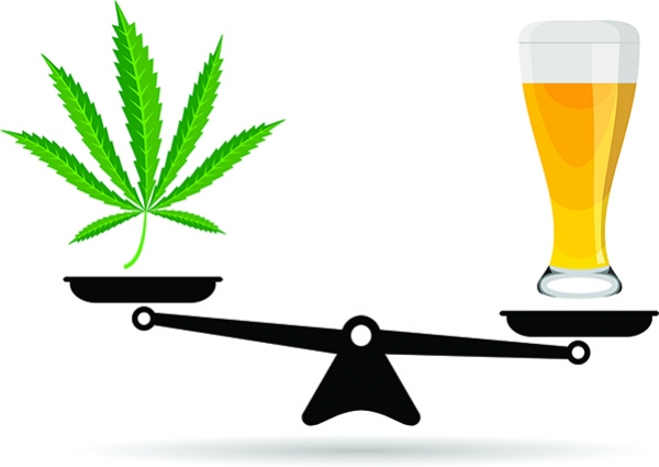 Does The Rise Of Cannabis Signal The Downfall Of Alcohol?