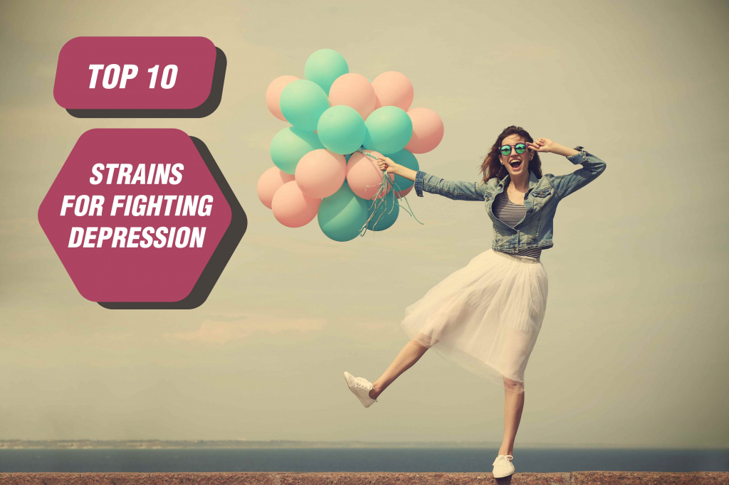 Top 10 Strains For Fighting Depression